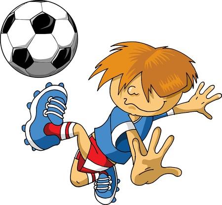 playoff: Soccer player design  Football Background  Illustration