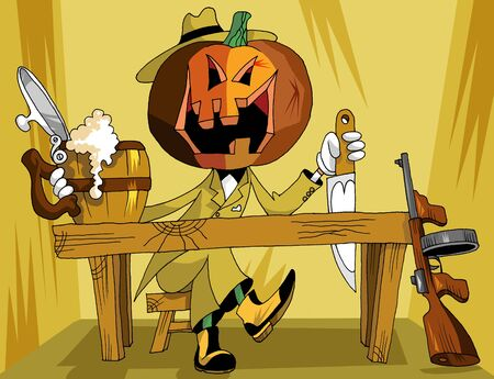 Ticket to Halloween;  Vector