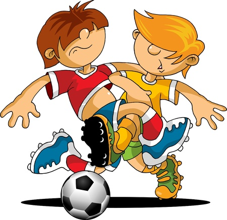 arquero futbol: f�tbol elemento de dise�o, fondo verde (ilustraci�n vectorial);