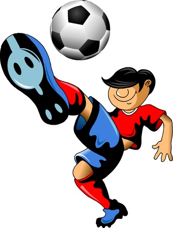 dribble: soccer design element, white background