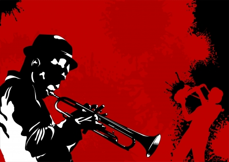 reggae: Musique de fond abstraite pour �v�nement musical de dessin vectoriel illustration;