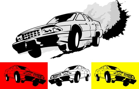poster of the car monster truck vector-illustration Stock Vector - 18150253