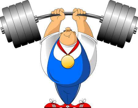 art, athlete, barbell, beauty, cartoon, champion, championship, comic, competition, dot, first, games, halftone, hip, illustration, iron, man, modern, people, pop, power, record, sport, sportsman, style, summer, team, thought, victory, weight, weightlifter, weightlifting, winner Illustration