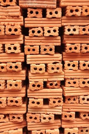 paredes de ladrillos: Pila de ladrillo