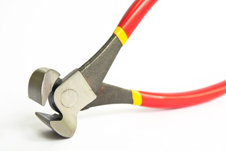 hand gripper: Tools for carpentry. For cut and withdrawn. Stock Photo