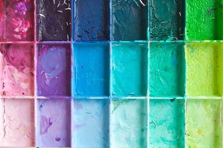 color color palette: Shade colour on the parette