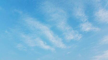 Blue sky with clouds. Blue sky with puffy white clouds stock photo 版權商用圖片 - 138249676