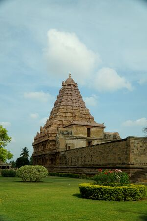Gangaikonda Cholapuram is a town located in Jayankondam, Ariyalur, Tamil Nadu, India. It became the capital of the Chola dynasty in c. 1025 during the reign of Rajendra Chola I, and served as the Chola capital for around 250 years