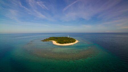 Apo Reef a marine sanctuary in Philippines 스톡 콘텐츠
