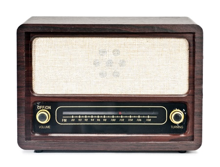 frequencies: Old Radio Stock Photo