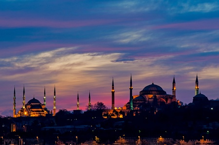 hagia sophia: Blue Mosque and Hagia Sophia