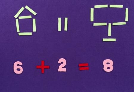 mathematical proof: Mathematical equation for preschool
