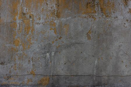 Old concrete wall with crack 스톡 콘텐츠
