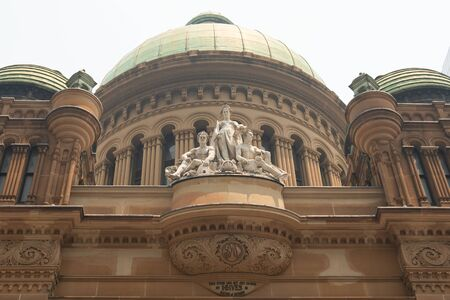 Queen Victoria Building Statues, Sydney  NSW Australia 19-12-2019