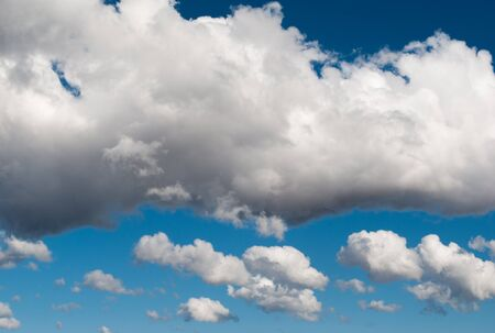 blue sky with clouds, cloudy skyscape background photo Stok Fotoğraf