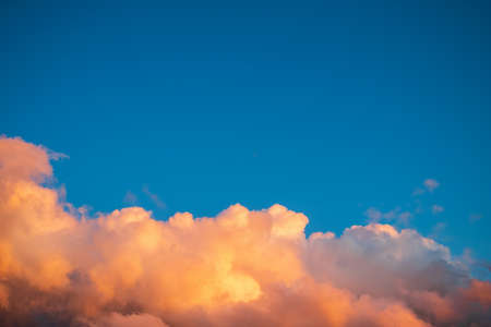 blue sky with clouds, cloudy skyscape background photo Foto de archivo