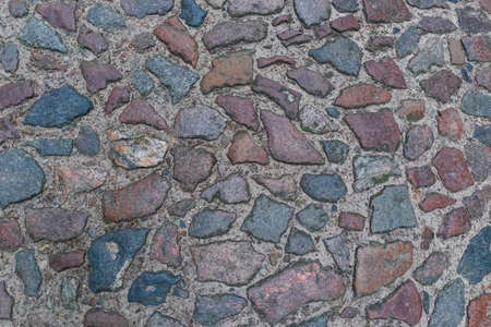 old paving stone road background