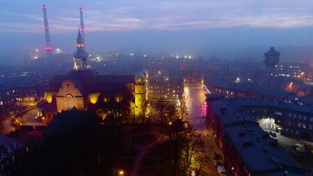 Historic district of Silesia Nikiszowiec Zdjęcie Seryjne