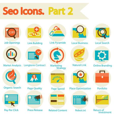 SEO Icon set part 2