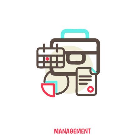 time management, statistics illustration