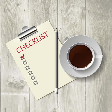 questionaire: L�piz acostado en la lista. Caf� de la ma�ana, el trabajo.