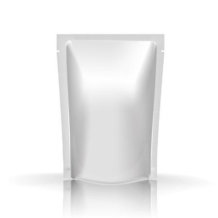 Maquette Foil nourriture ou de boisson Blank Banque d'images - 39349708