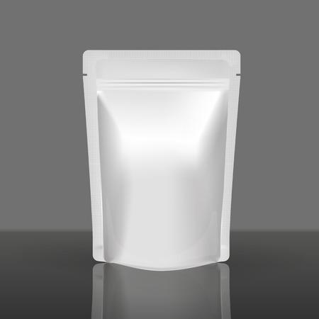 Mockup Blank Foil Food Or Drink