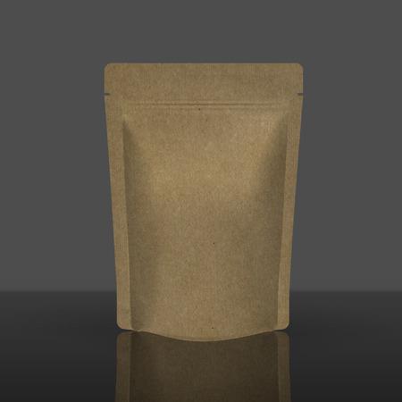 Mockup folie zak pakket