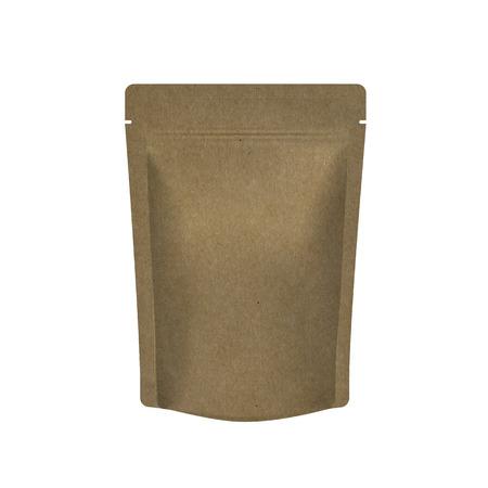 Mockup Blank Foil Food Or Drink  Vector