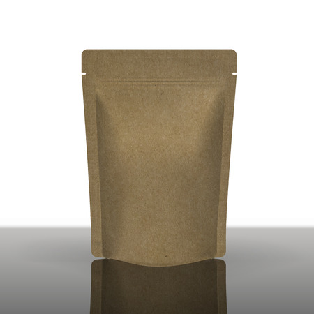 Mockup Foil Food Bag Package  Vettoriali