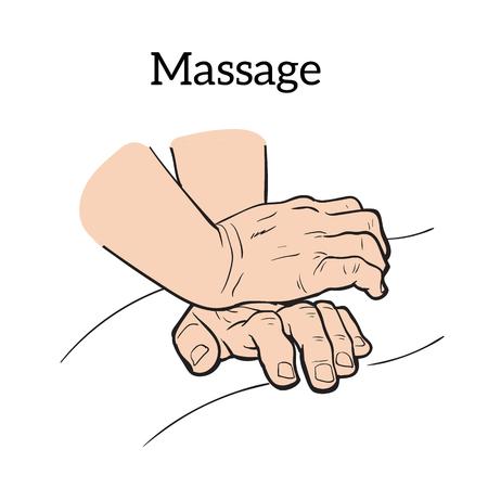 body massage: Hand massage, back massage, body massage.