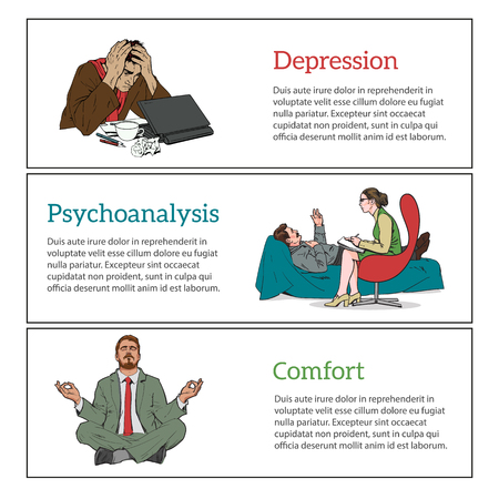 bad feeling: Help psychologist. Psychotherapy. Consulting psychologist doctor. Psychologist listens to patient. Man in depression. The crisis in the country and life. Bad feeling. Relaxed. Search yourself.