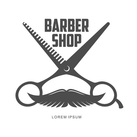 barber shop: vintage barber shop Illustration