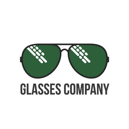 eye glasses: Glasses , vector illustration isolated on white background. Round, square, aviator, cat eye glasses icons, colorful . Retro and modern style eyeglasses