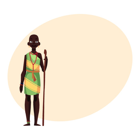 Nativos De Piel Negra Personas De Tribus Africanas Y Aborígenes ...