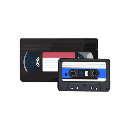 Video and audio cassettes,