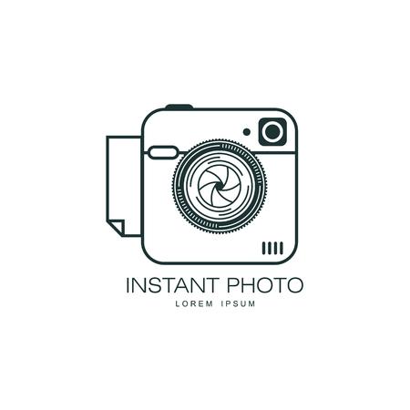 Vecteur lentille photo lentille de l & # 39 ; icône. illustration icône isolé sur un fond blanc. logo de conception de point de banque pour la photo studio Banque d'images - 84405023