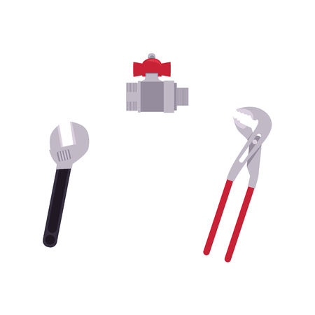 Repair tools icon. Illustration