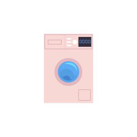 Icona di lavatrice automatica domestica. Archivio Fotografico - 92171659