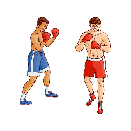 Boxers Illustration
