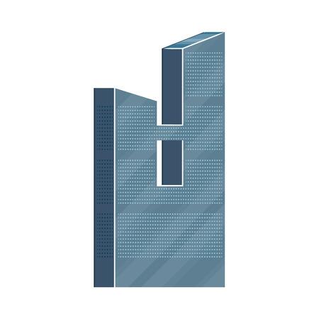 近代的な超高層ビル