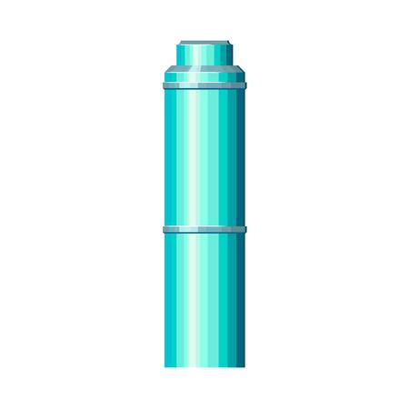 現代の円柱の超高層ビル  イラスト・ベクター素材