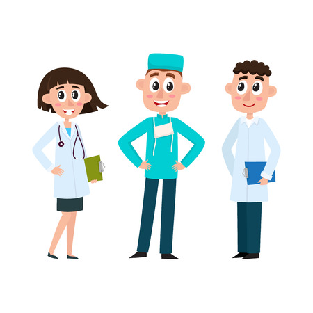 Medical staff Stock Vector - 93718819