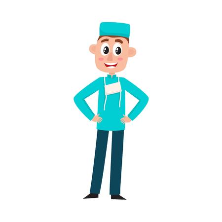Surgeon icon 向量圖像