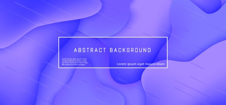 Vector abstract background with expressive purple wave motion flow. Modern style presentation template, commercial poster layout, dynamic creative advertisement banner wallpaper with space for text