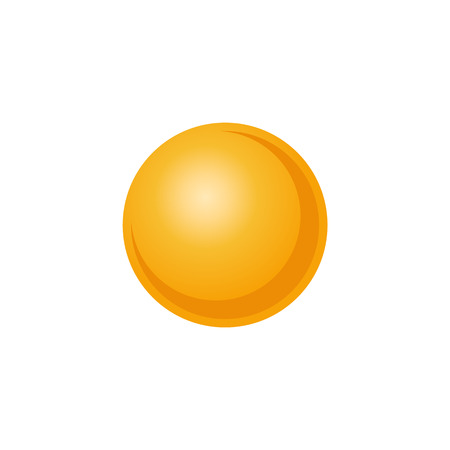 Vector illustration of solar system star Sun in flat style - abstract shiny celestial body for astronomy and outer space exploration concept isolated on white background. Illustration