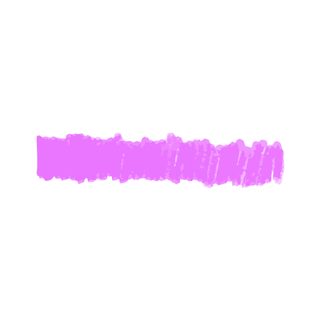 Purple marker line hand drawn in vertical strokes, single vertical highlighter scribble shape with felt tip texture, doodle design element drawing isolated on white background. Vector illustration. Illusztráció
