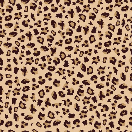 Leopard or cheetah seamless pattern for textile prints and fashion design