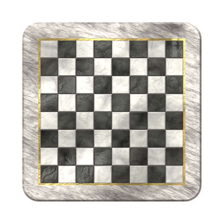 High quality computer generated chessboard