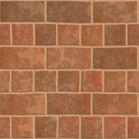 High quality computer generated texture of brick wall photo